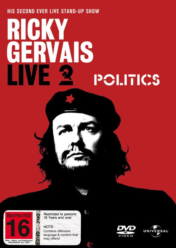 Ricky Gervais - Politics on DVD image