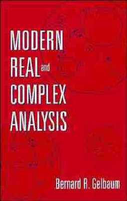 Modern Real and Complex Analysis by Bernard R. Gelbaum image
