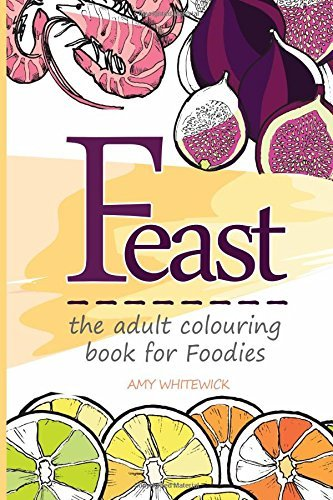 Feast: The Adult Colouring Book for Foodies by Amy Whitewick image