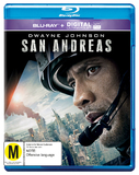 San Andreas on Blu-ray