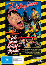 Rolling Stones, The - Let's Spend The Night Together… Live It! on DVD