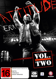 WWE: The Attitude Era - Volume 2 on DVD