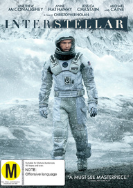 Interstellar on DVD