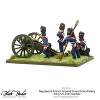 Napoleonic French Imperial Guard Foot Artillery howitzer image