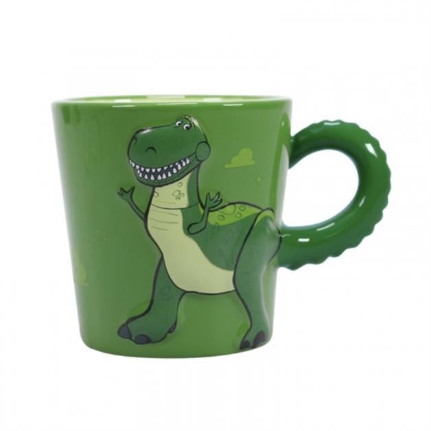Toy Story Rex Shaped Mug (350ml)