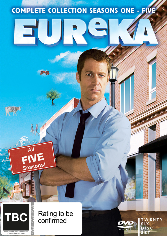 Eureka Full Collection on DVD