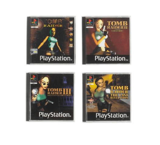 Tomb Raider - PS1 Coasters