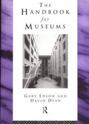 Handbook for Museums by Gary Edson image