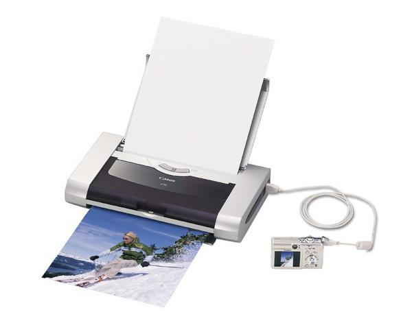 Canon Printer Bubble Jet Portable PIXMA iP90 image