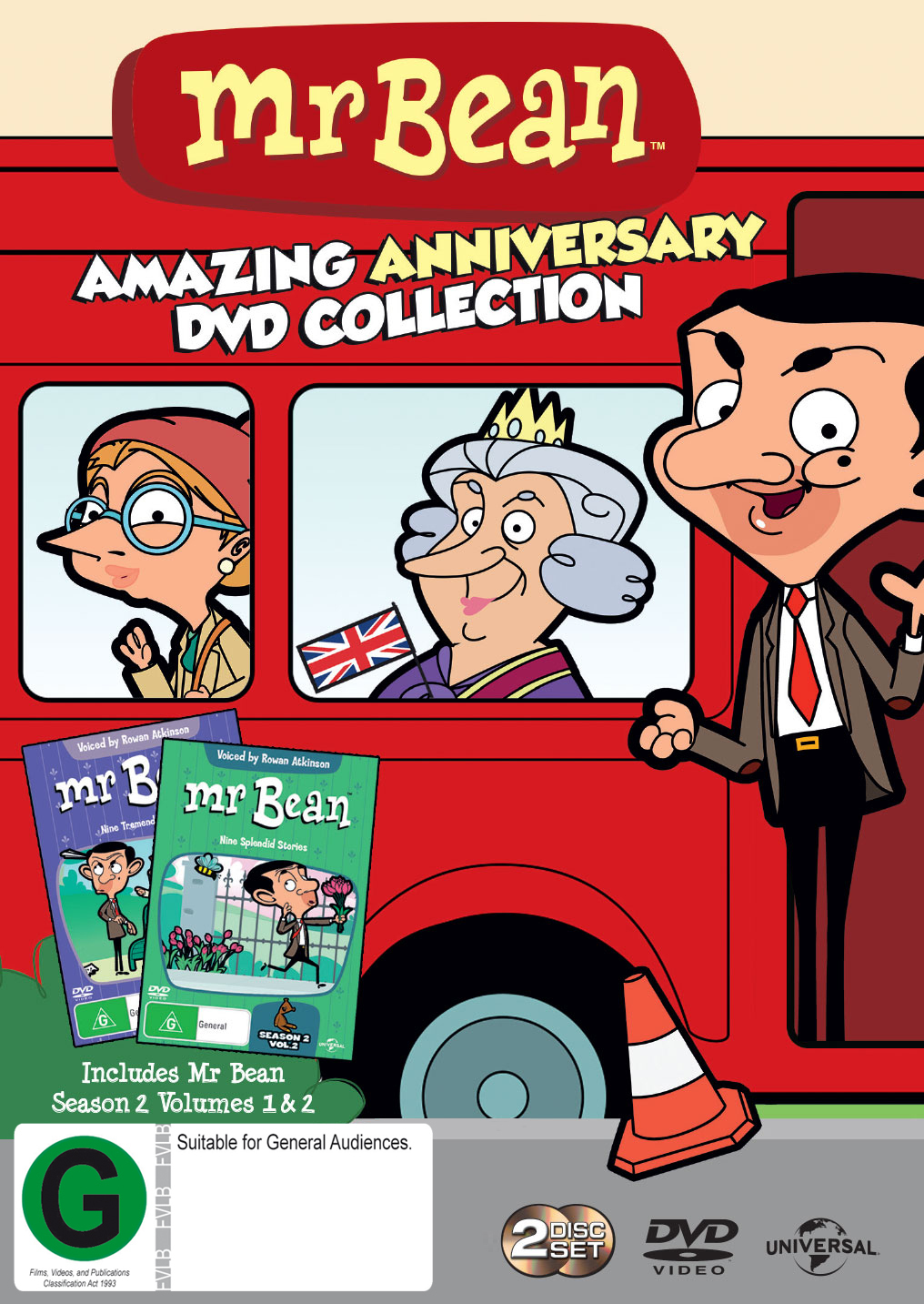 Mr Beans 25th Anniversary Boxset Dvd In Stock Buy Now At