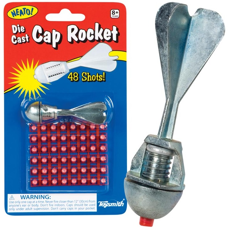 Toysmith: Die Cast Cap Rocket image