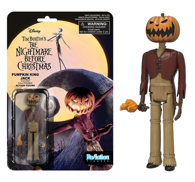 7 The Nightmare Before Christmas Jack Skellington Pumpkin King Action Figure Toy