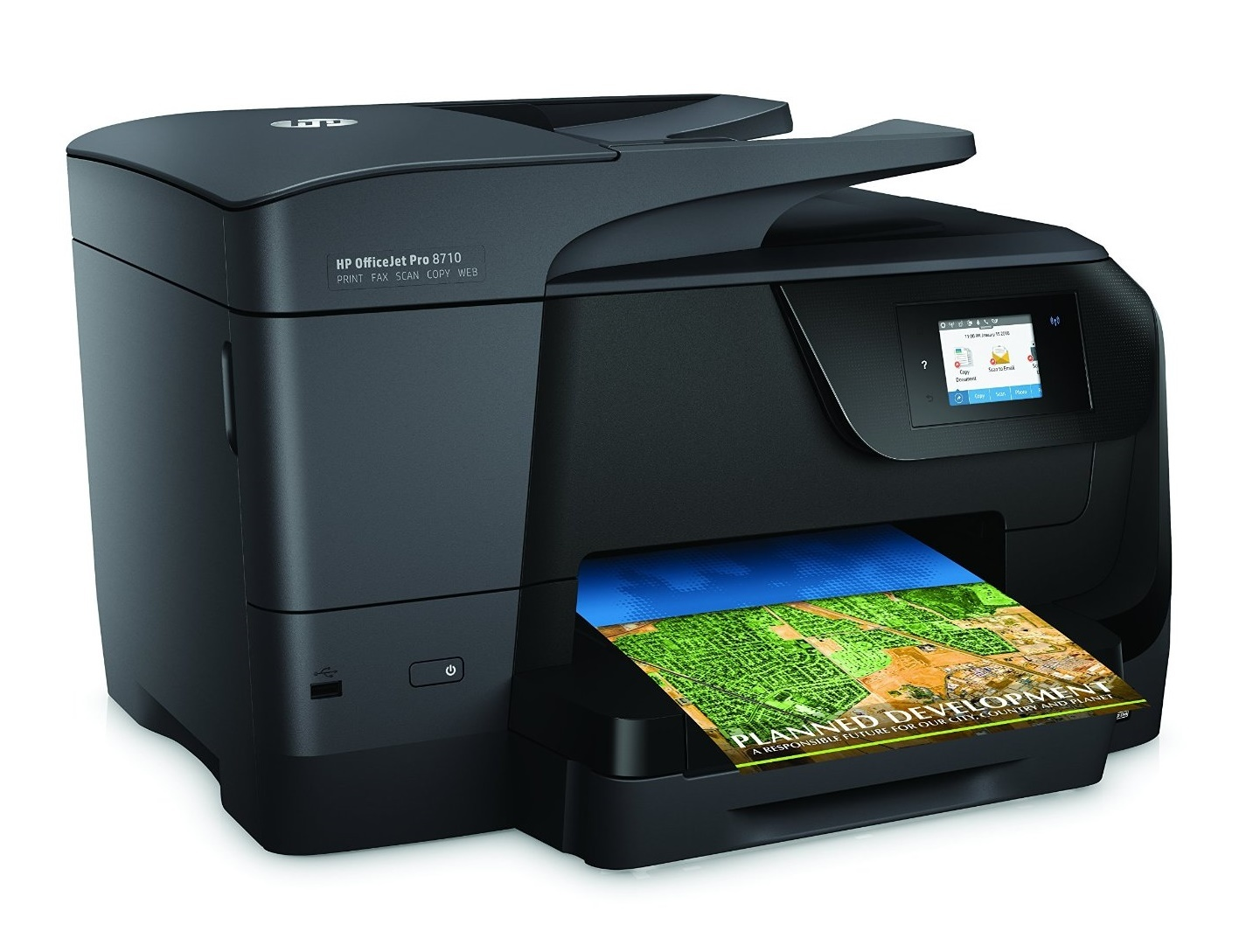 HP Officejet Pro 8710 22ppm Inkjet MFC Printer
