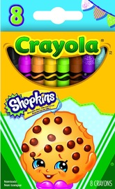 Crayola Shopkins: Kookie Cookie Crayon - 8 Pack