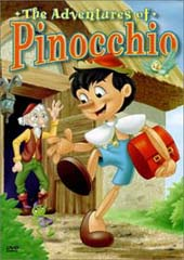 The Adventures of Pinocchio on DVD