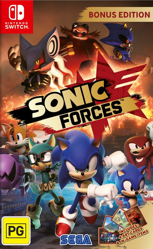 Sonic Forces Bonus Edition for Nintendo Switch