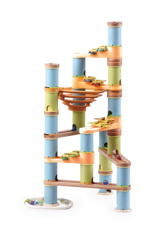 Bamboo Builder: Marble Run - 127pc