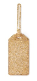Kate Spade: Luggage Tag - Gold Glitter