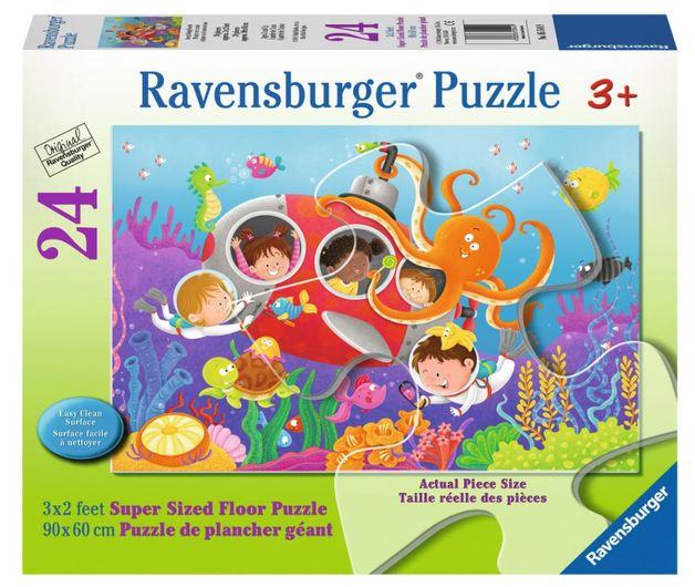 Ravensburger : Diving Friends SuperSize Puz 24pc