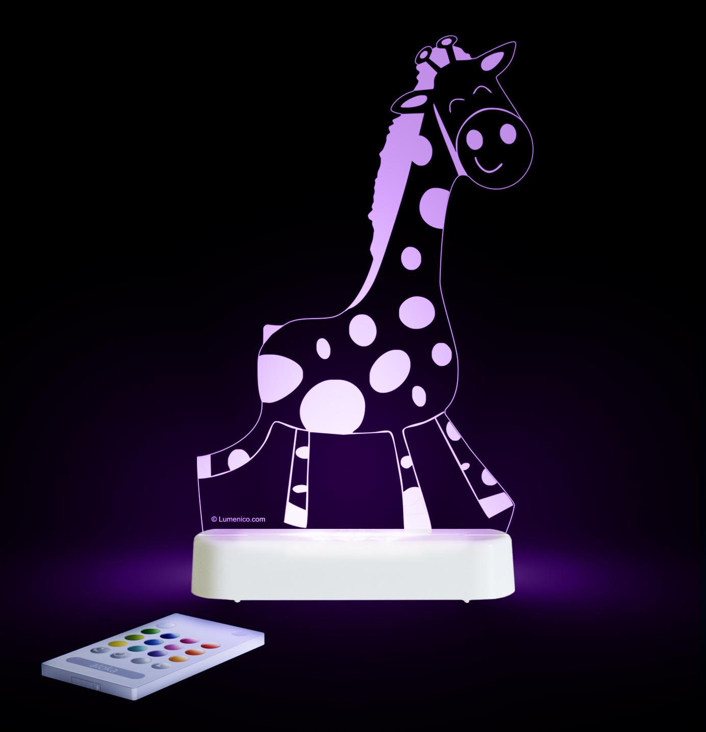 Aloka: Night Light - Giraffe image