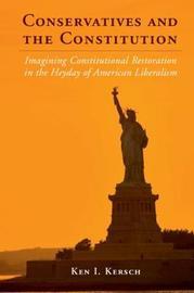 Cambridge Studies on the American Constitution by Ken I Kersch