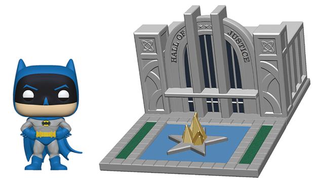 DC Comics: Batman & Hall of Justice - Pop! Town