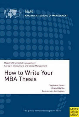 How to Write Your MBA Thesis by Stephanie Jones image