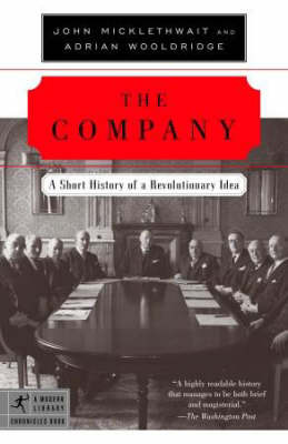 The Company by John Micklethwait image