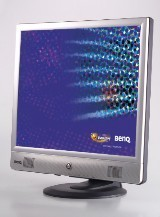 "BenQ FP71V 17"" 4ms Silver LCD Monitor"