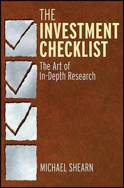 The Investment Checklist by Michael Shearn