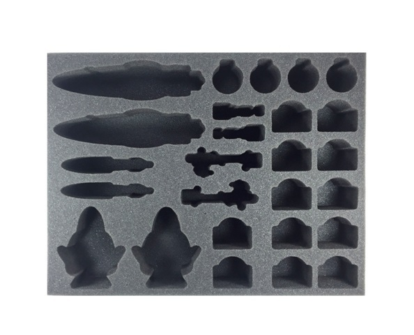 Battle Foam: Star Wars: Armada Wave 2 - Rebel Foam Tray (BFL-2.5) image