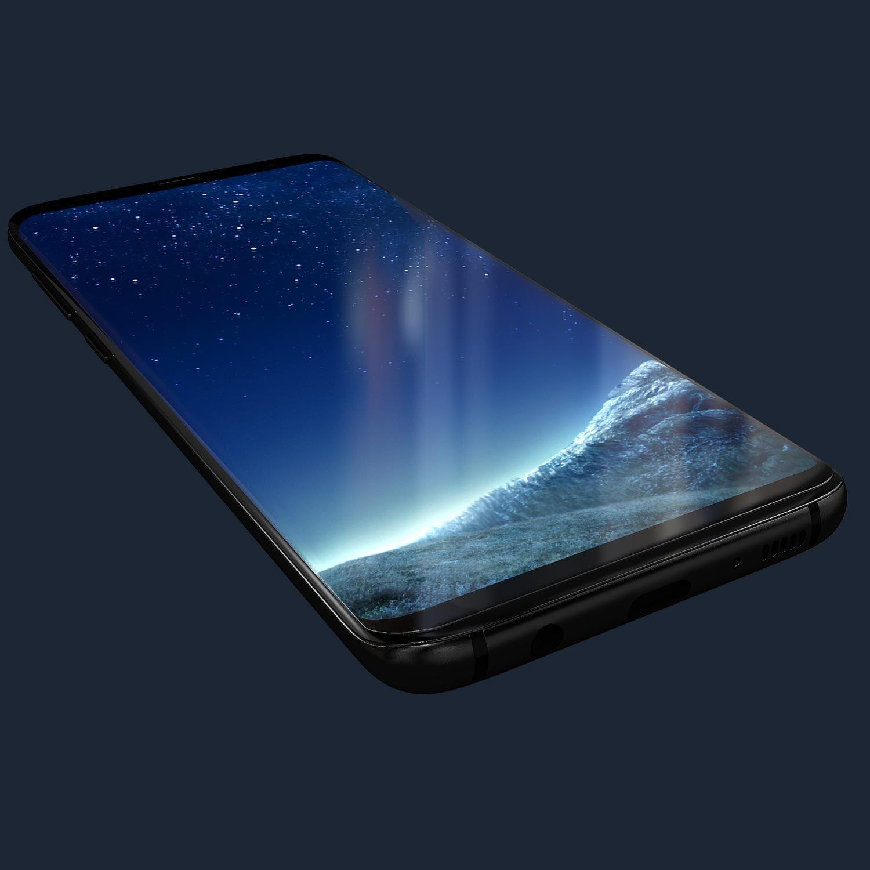 Kase Edge Night Screen Protector -Samsung Galaxy S8 image