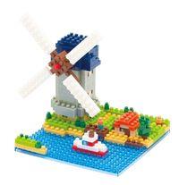 nanoblock: Sites To See - Windmill