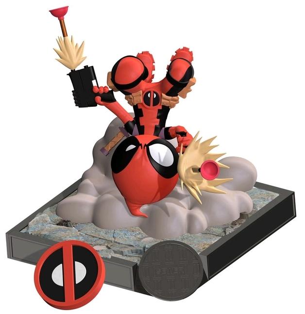"""Marvel: Deadpool (Scottie Young Ver.) - 5.5"""" Finders Keypers Statue"""
