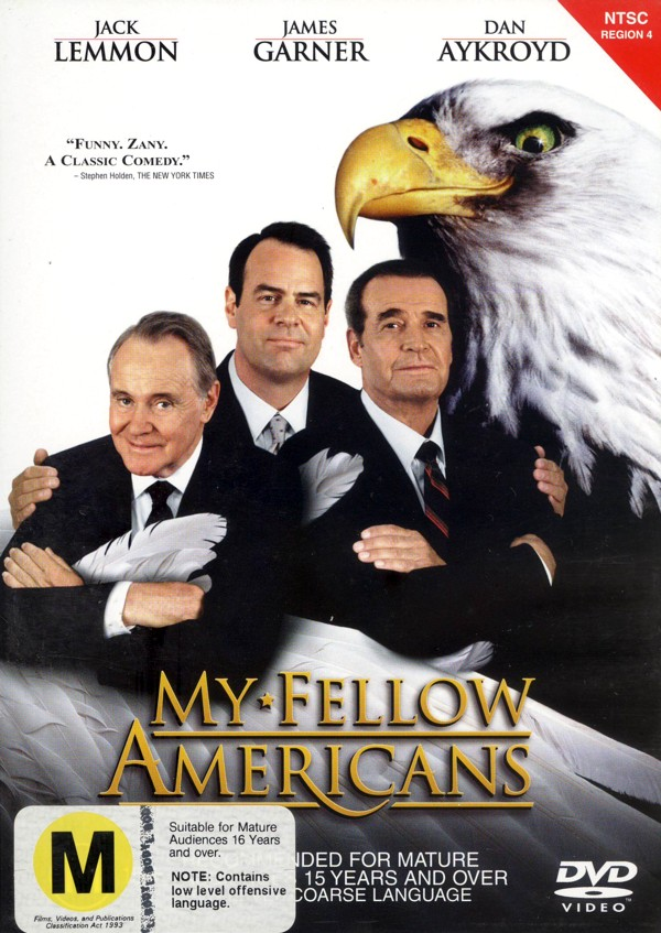 My Fellow Americans on DVD image