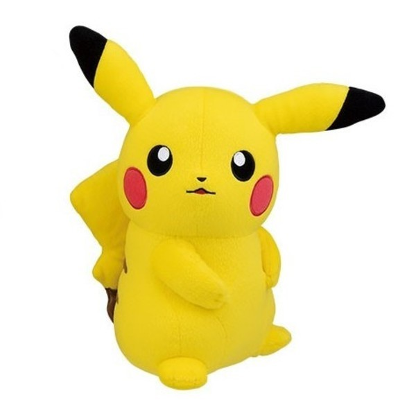 Pokemon: Pikachu Large Plush - Staring -