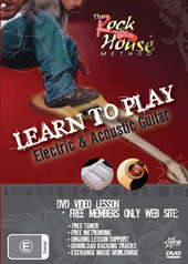 Learn To Play Electric & Acoustic Guitar on DVD
