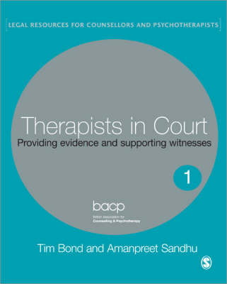 Therapists in Court by Tim Bond