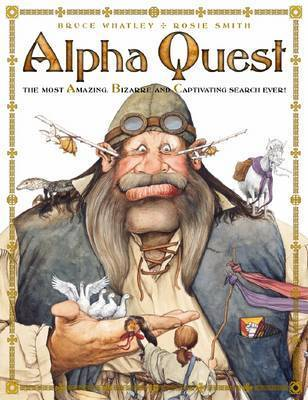 Alpha Quest by Bruce Whatley