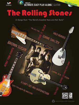 """Ultimate Easy Guitar Play-Along -- The Rolling Stones: Easy Guitar Tab, Book & DVD by """"Rolling Stones"""""""