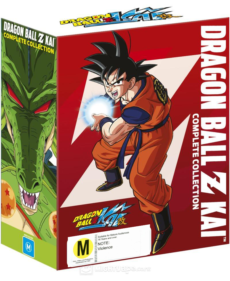 dragon ball z kai complete collection blu ray buy now at