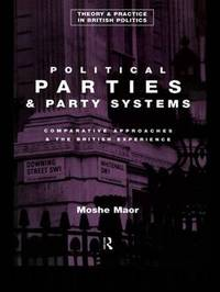 Political Parties and Party Systems by Moshe Maor image