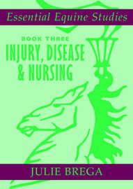Essential Equine Studies: Injury, Disease and Equine Nursing: Bk. 3 by Julie Brega image