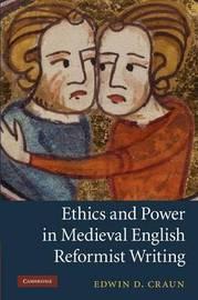 Cambridge Studies in Medieval Literature: Series Number 76 by Edwin David Craun