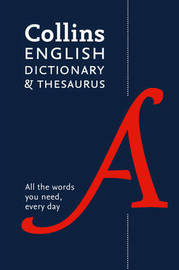 Collins English Dictionary and Thesaurus Paperback edition by Collins Dictionaries