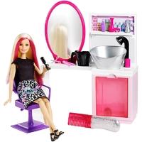 Barbie: Sparkle Style Salon & Doll Playset