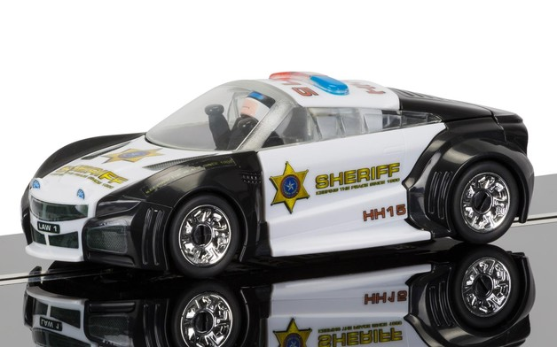 Scalextric: Quick Build Police Car - Slot Car