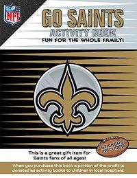 Go Saints Activity Book by Darla Hall