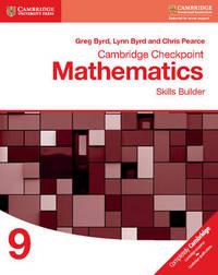 Cambridge Checkpoint Mathematics Skills Builder Workbook 9 by Greg Byrd