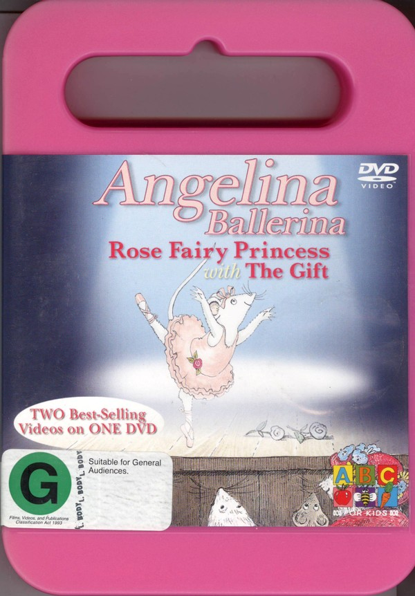 Angelina Ballerina: Rose Fairy Princess And The Gift on DVD image